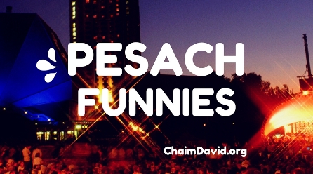 PESACH / PASSOVER FUNNIES